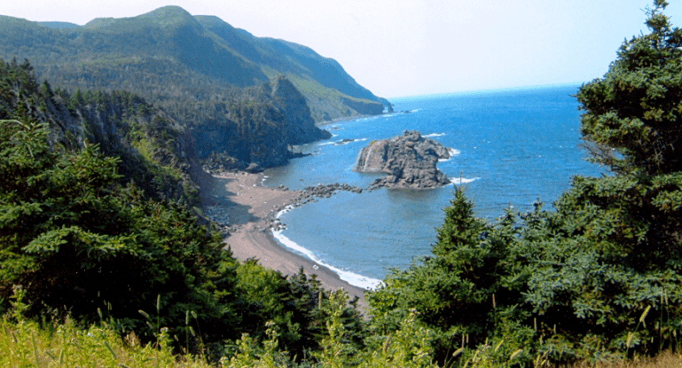Coastal view Newfoundland Viking Trail