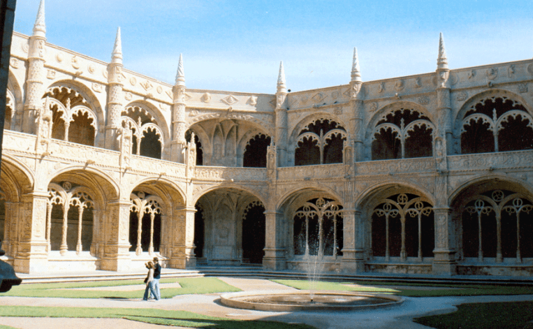 The Cloisters of the Jeronimos Monastery