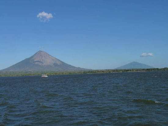 The Concepcion and Maderas volcanoes