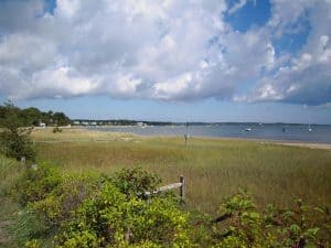 Pleasant Bay, on Route 28 between Chatham and Orleans