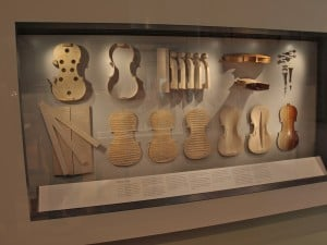 The Ashmolean museum displays ancient instruments  and insights into their construction.