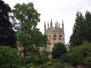 Some of Oxford's famous spires