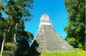 One of Tikal's pyramids.