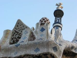 Gaudi's 'stamp' can be seen all over Barcelona