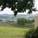 The bucolic scenery of Amish country