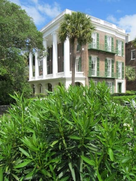 One of Charleston's stately homes