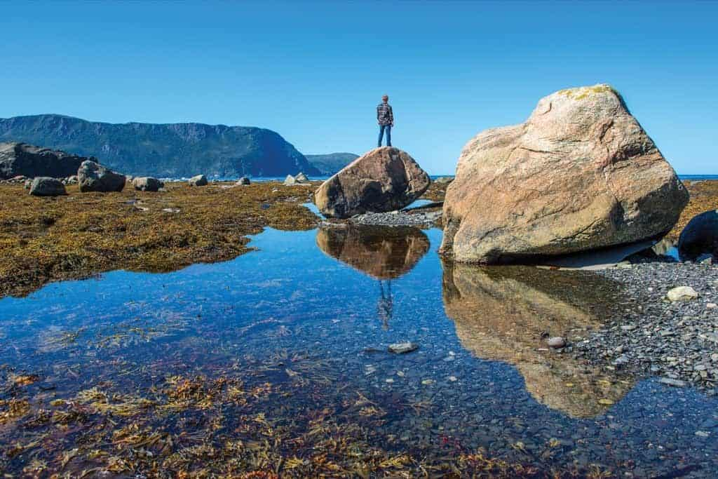 Hiking Near Rocky Harbour, Western ©Copyright Barrett & MacKay Photo - Image courtesy of Newfoundland & Labrador Tourism